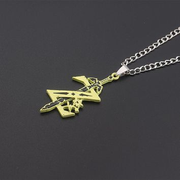 Fashion Jewelry The Legend of Zelda Charm Necklace Anime Game Best Friend Gift Necklaces & Pendants Women Men Jewelry