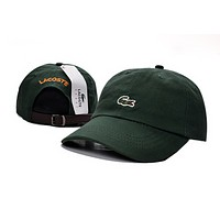 Perfect Lacoste Women Men Embroidery Hip Hop Sport Baseball Cap Hat