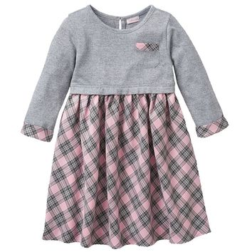 Youngland Plaid Dress - Girls