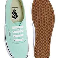 Vans Authentic Mint Trainers at asos.com
