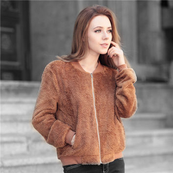 Winter Women's Fashion Stylish Jacket [8999110980]