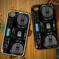 Boombox Ghetto Blaster Funny Y0509 LG G2 G3, Nexus 4 5, Xperia Z2, iPhone 4S 5S 5C 6 6 Plus, iPod 4 5 Case