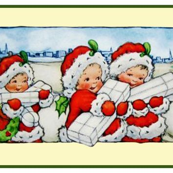 Vintage Christmas Santa Helpers Nimble Nick #11 Counted Cross Stitch or Counted Needlepoint Pattern
