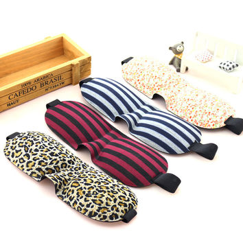 1 PCS HOT SALE 3D Portable Soft Travel Sleep Rest Aid Eye Mask Cover exquisite and cute and small and various style  Eye Patch