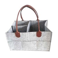 The new felt bag, handbag, diaper bag caddy