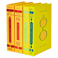 Alphabet Collection, Yellow, Set of 4, Non-Fiction Books