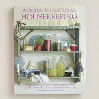 """A Guide to Natural Housekeeping"" Book - World Market"