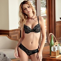 Bra Set Summer Cotton Cup Sexy Lingerie [296077787177]