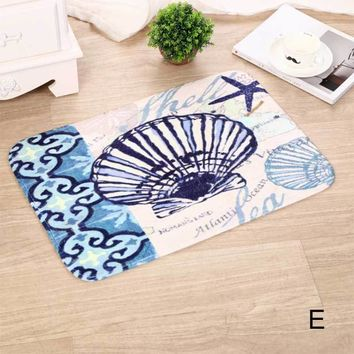 Autumn Fall welcome door mat doormat Kitchen Home Decor Sea Animal Turtles  Entrance Thin Flannel Anti-Slip Carpets J2Y AT_76_7