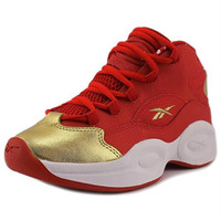 Reebok Question Mid Girls Leather Athletic SALE