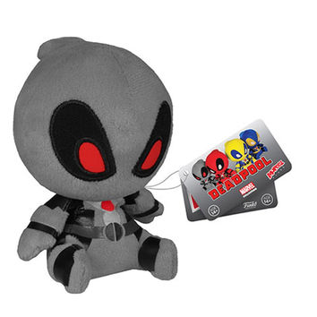 Deadpool Gray X-Force Mopeez Marvel Plush