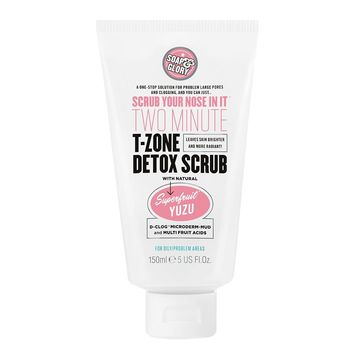 Soap & Glory Scrub Your Nose In It Two Minute T-Zone Detox Scrub Fresh Frosty Mint | Walgreens