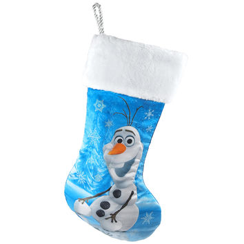Disney Frozen Olaf Christmas Stocking, Blue, 18-Inch