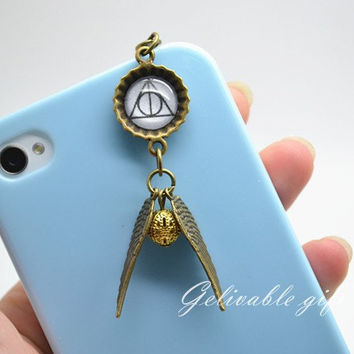 Harry Potter iPhone 5 4S 4 charm35mm dust proof by Gelivablegift
