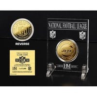 New York Jets 24KT Gold Game Coin