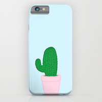 Pastel Cactus iPhone & iPod Case by Gretchen M.