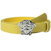 Versace Boys Medusa Leather Belt
