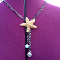 Real Starfish Necklace