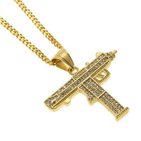 Icy Uzi Necklace