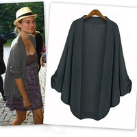 Bat Sleeve Sheer Cardigans