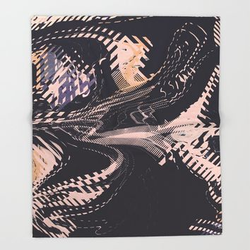 Static Throw Blanket by duckyb
