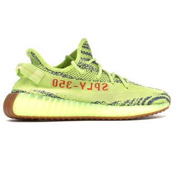 Semi Frozen Yellow Boost 350 V2 by YEEZY