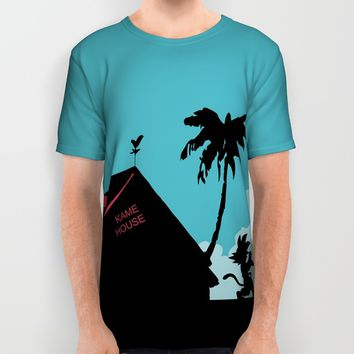 Kame House All Over Print Shirt by TxzDesign