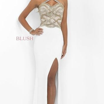 Blush Long Prom Dress BL-11030