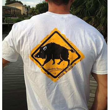 Hog Crossing Series Short Sleeve Tee