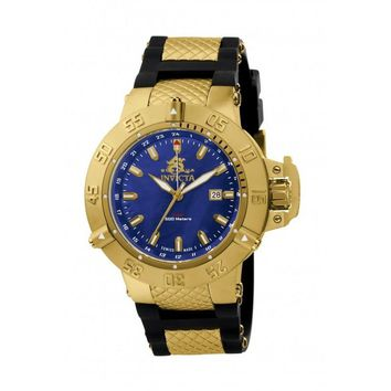 Invicta Men's 1150 Subaqua Quartz GMT Blue Dial Watch