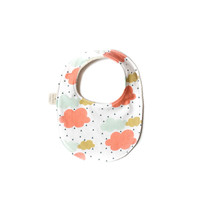 Baby Bib in Colorful Rainy Day
