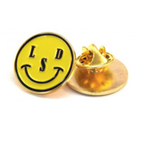 LSD SMILEY PIN