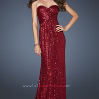 Floor Length Sequin Dress