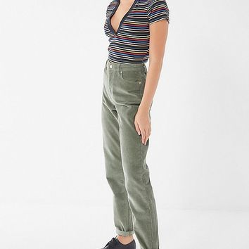 BDG Color Corduroy Mom Pant   Urban Outfitters