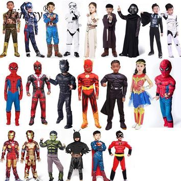 Children's Super Hero Halloween Costumes