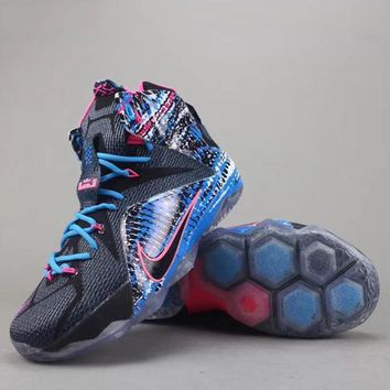 Nike Lebron 12 P.S Elite Women Men Fashion Casual Sneakers Sport Shoes
