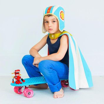 Moto Hero Cape & Hat Set