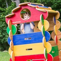 Bilderhoos | Wooden Play House