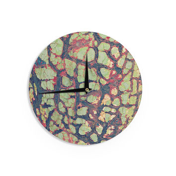 "Robin Dickinson ""Pretty Patina"" Bark Wall Clock"