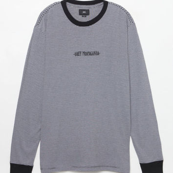 OBEY New Times Striped Long Sleeve T-Shirt at PacSun.com
