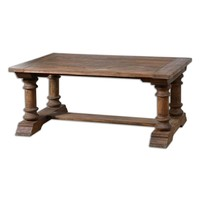 Saturia Reclaimed Wood Coffee Table