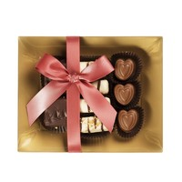 Gourmet Party Chocolate Arrangement ,Thank You Chocolate Plate By Chocolate Decor (Small)