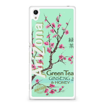Arizona Green Tea SoftDrink Sony Experia Z4 Case
