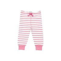 cozy pants in pink marseille stripe