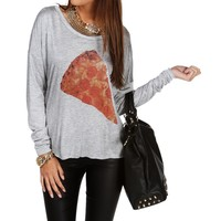 Sale-heather Gray Pizza Top