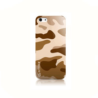 Brown Camouflage Army Design iPhone 4 4s, iPhone 5/5s, Iphone 5c Hard Case Cover