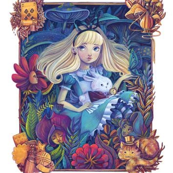 """Alice in the Garden"" by Siames Escalante"