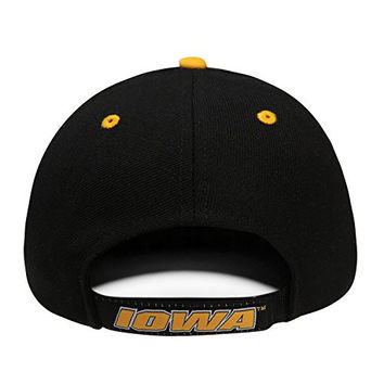 Top of the World NCAA-Triple Conference-Adjustable Hat Cap-Big Ten Conference-Iowa Hawkeyes