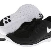 nike free run 5.0 womens black and white - Google Search