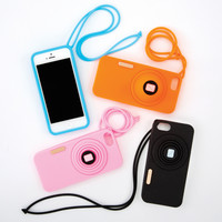 Zoom Camera iPhone 5 Case/Stand